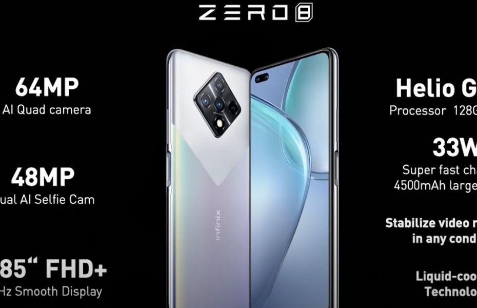 Dijual Rp3jutaan, Infinix Zero 8 tawarkan refresh rate 90Hz dan MediaTek Helio G90T