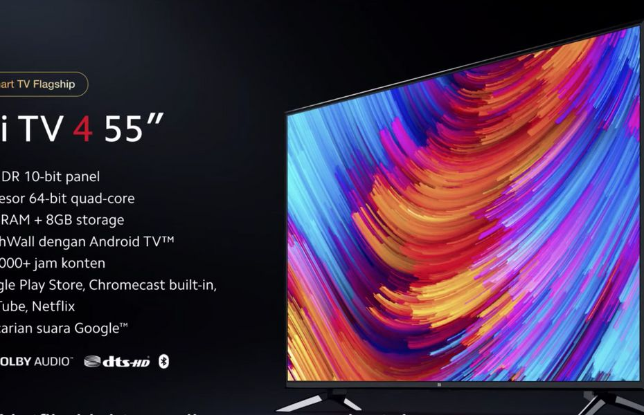 Xiaomi luncurkan Mi TV 4 43 inci dan 55 inci dengan harga terjangkau