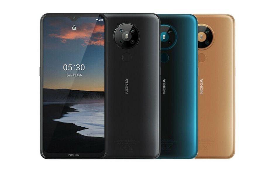 Nokia 5.3 dengan dua ponsel lainnya mungkin akan dirilis bulan ini