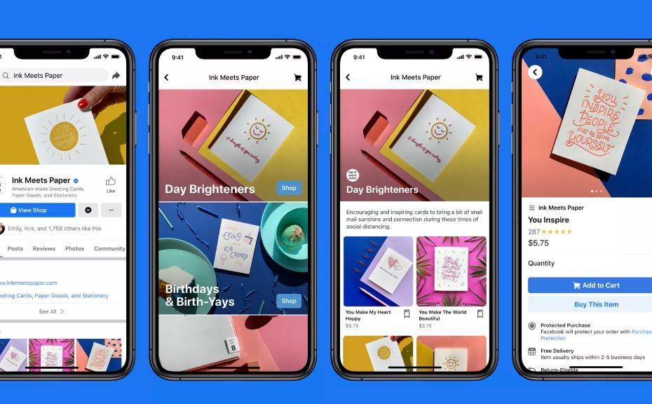 Mau Jualan di Facebook? Pakai Fitur baru Facebook Shop