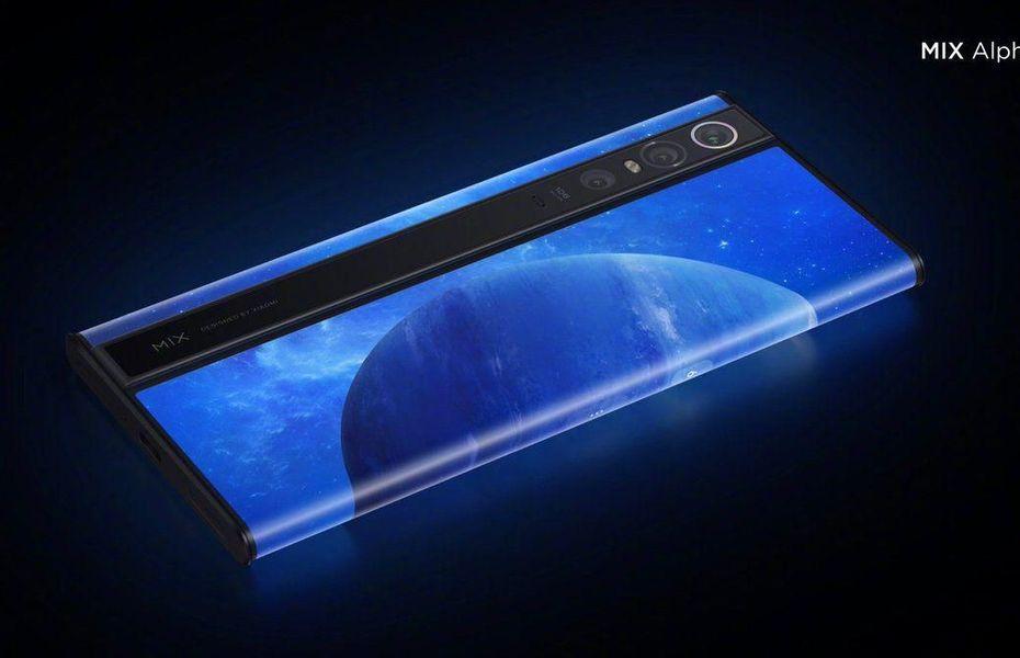 Xiaomi kembali patenkan dua desain smartphone berlayar surround seperti Mi Mix Alpha