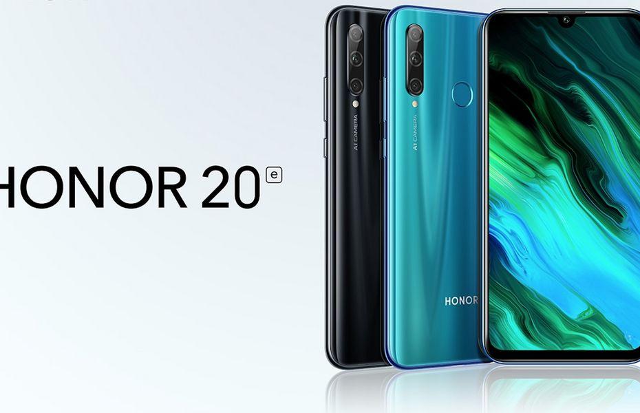 Rebranding dari Honor 20 Lite, Honor luncurkan Honor 20E untuk pasar Italia