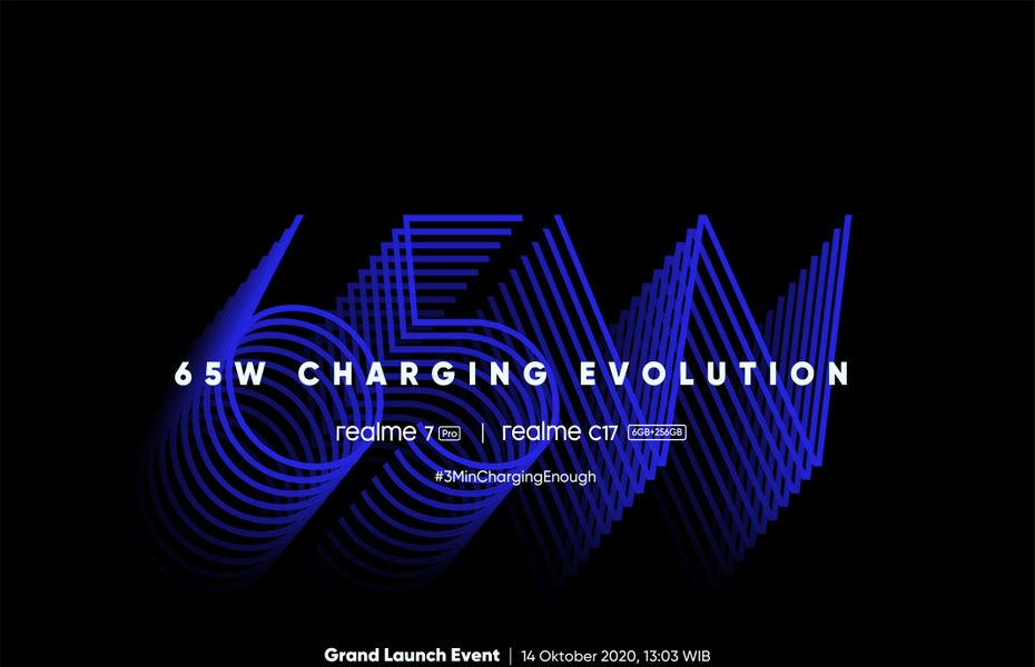 Realme 7 Pro dengan teknologi 65W SuperDart Charging meluncur pekan depan di Indonesia