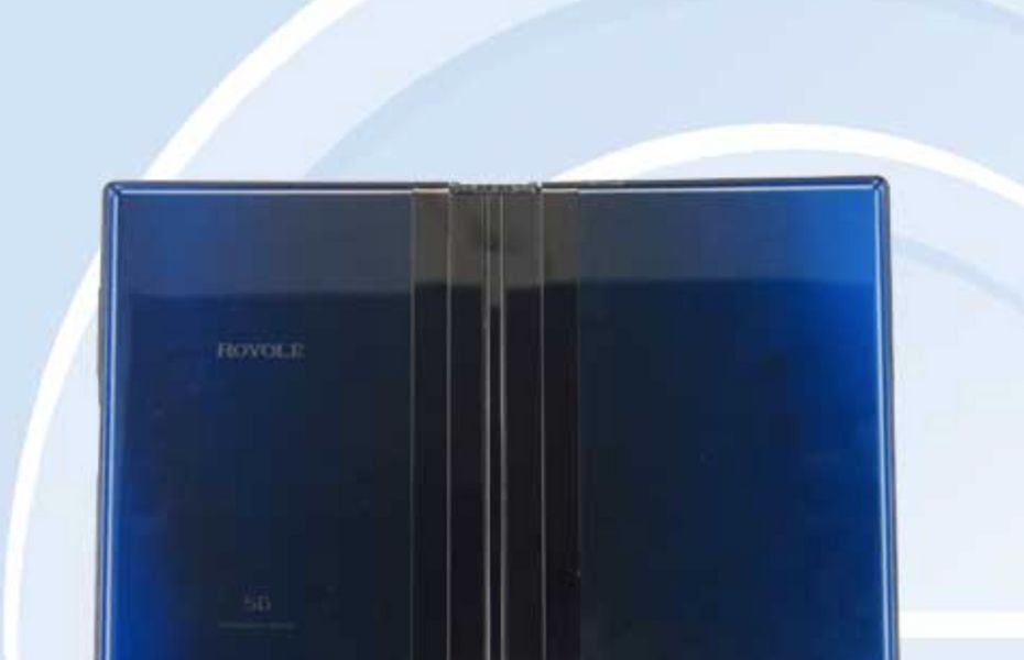 Royole Flexpai 2 mampir di situs sertifikasi TENAA