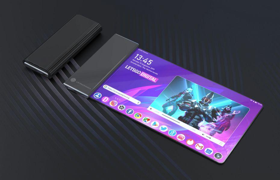 Smartphone layar gulung LG dengan kodenama Project B diluncurkan awal tahun depan