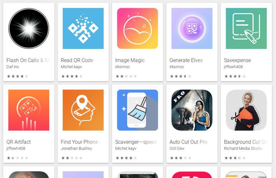 Daftar 15 aplikasi yang mengandung adware jahat di Play Store