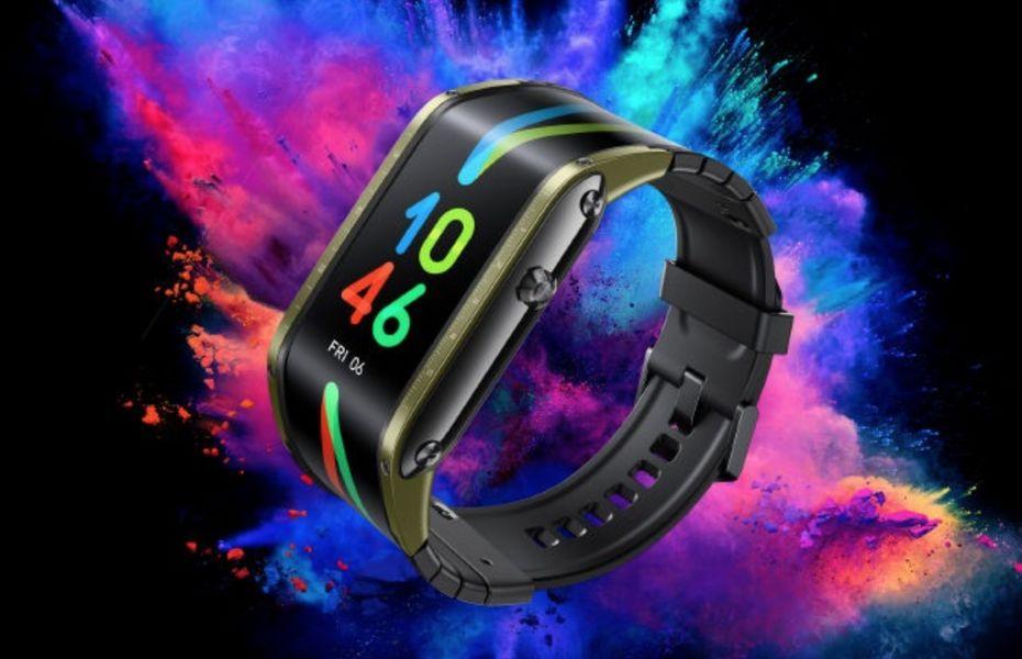 Nubia Watch dengan layar AMOLED 4.01 inci yang fleksibel juga ikut diluncurkan