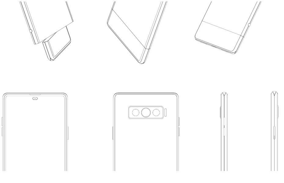 Vivo ajukan paten smartphone dengan layar yang bisa diputar