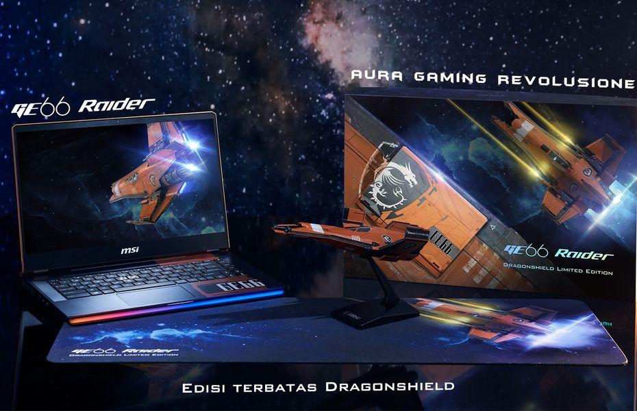 MSI GE66 Dragonshield, laptop gaming bergaya pesawat antariksa resmi mendarat di Indonesia