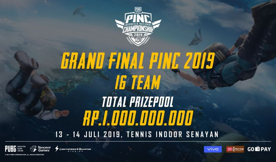 16 Tim eSport bakal bersaing pada Grand Final PINC 2019
