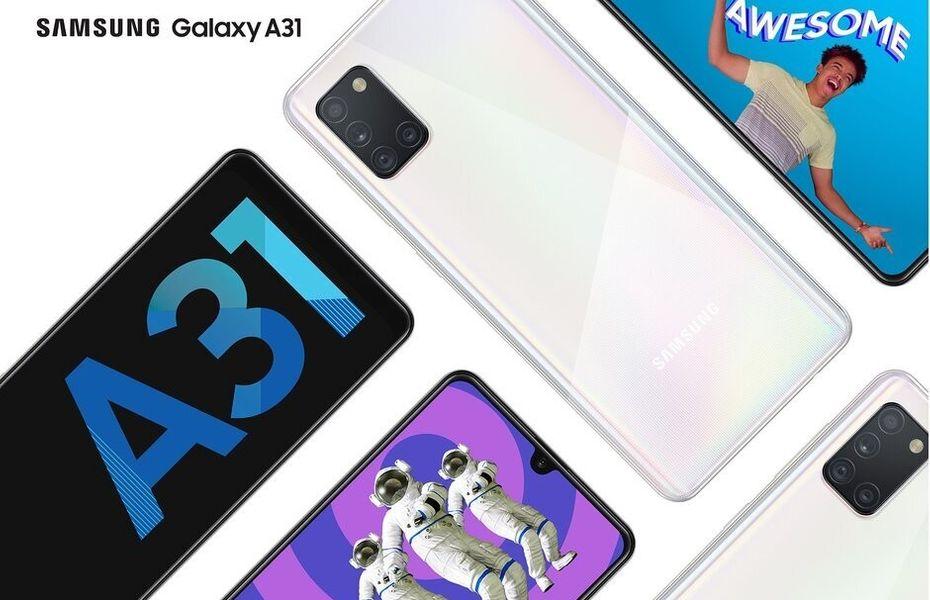 Galaxy A31 resmi dirilis di Korea Selatan dengan harga Rp4,7 juta.