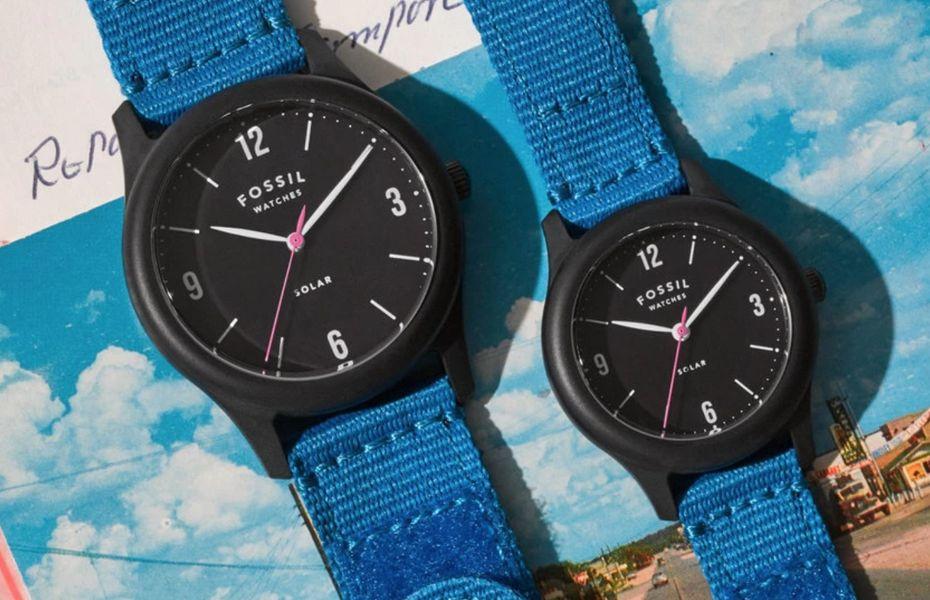 Berdesain klasik, jam tangan Fossil Solar ini adopsi tenaga surya dan ramah lingkungan