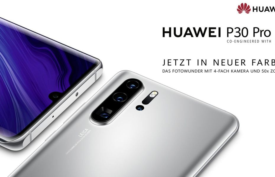 Huawei hadirkan P30 Pro New Edition dengan warna Silver Frost seperti P40 Pro