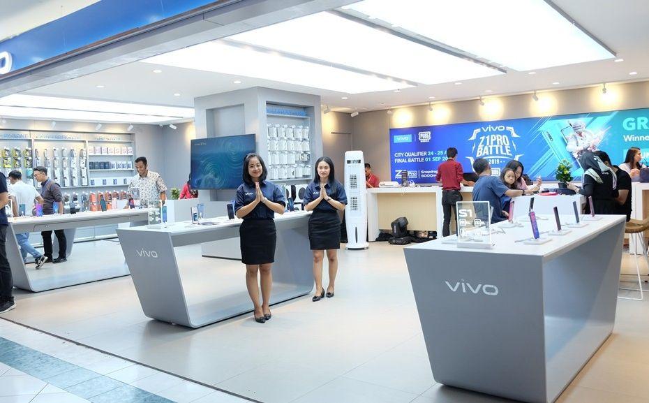 Vivo bersama Erafone buka 10 store di Semarang