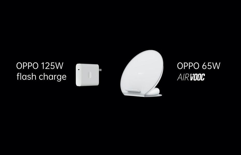 Oppo resmi umumkan Flash Charge 125W dan AirVOOC 65W