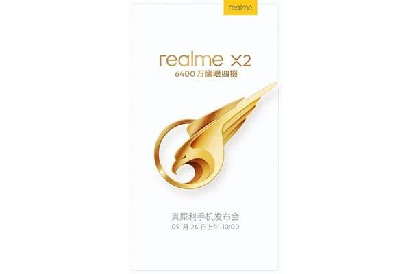 Realme X2 dengan kamera 64MP segera meluncur 24 September di Tiongkok
