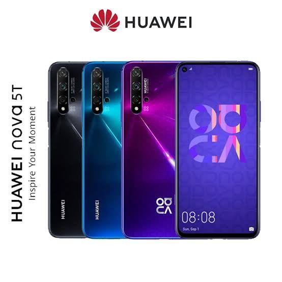 Huawei Nova 5T turun harga, harganya jadi Rp5,499 juta