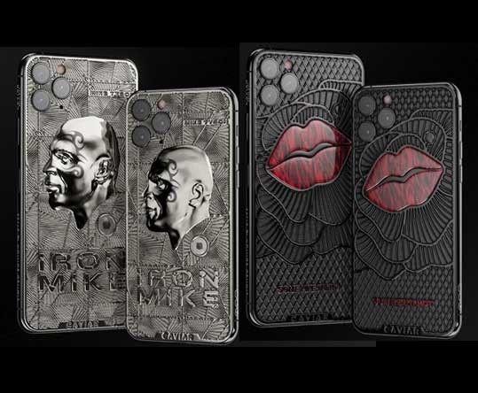 Caviar bikin iPhone 11 Pro mahal edisi Mike Tyson dan Marylin Monroe