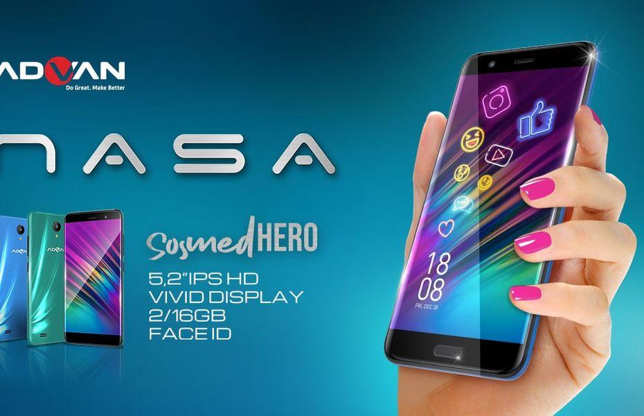 Advan NASA, ponsel entry-level dengan banderol harga murah