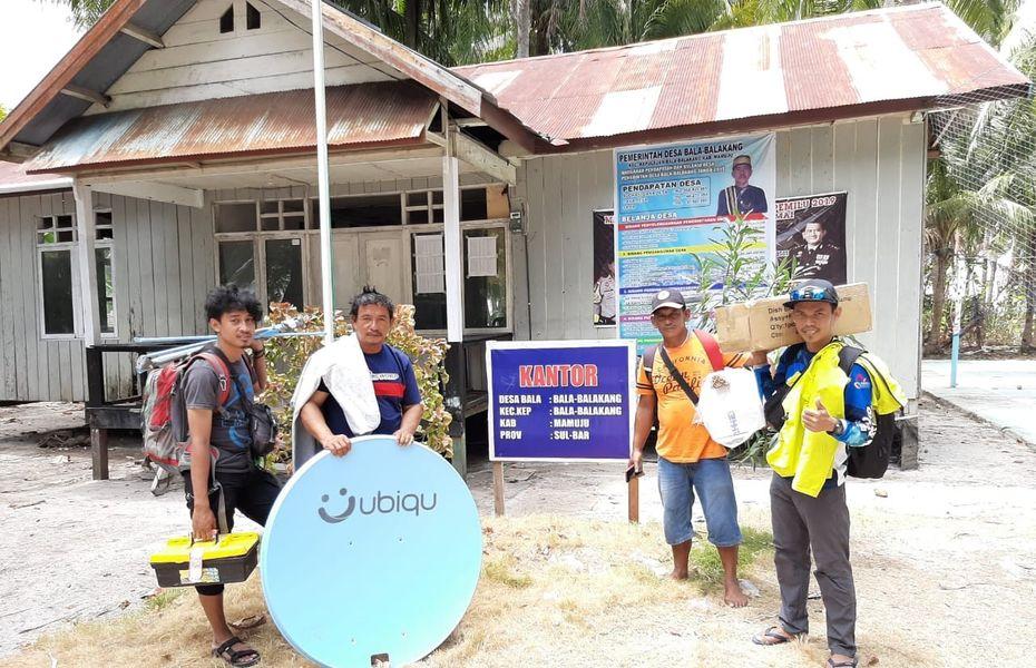 Terpancar langsung dari langit, Ubiqu kini bisa digunakan merata di seluruh Indonesia