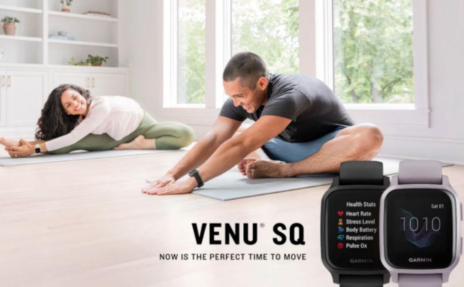 Garmin Venu Sq dengan desain seperti Apple Watch SE resmi diluncurkan