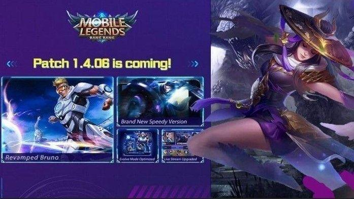 Daftar Hero di Mobile Legend yang Bakal Kena Nerf pada Update 1.4.06