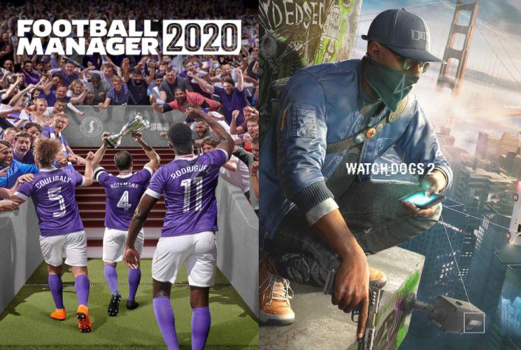 Football Manager 2020 dan Watch Dogs 2 gratis di Epic Games Store