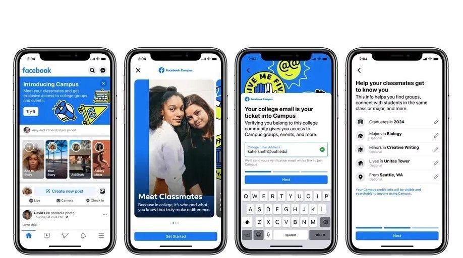 Facebook Campus Diluncurkan, Ini Fitur-Fitur Menariknya