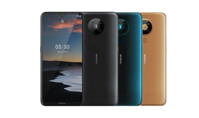 Nokia 5.3 dengan Android 11 OS muncul di Geekbench