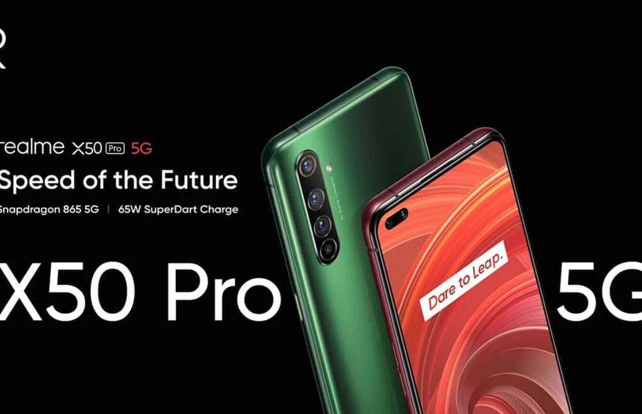 Realme X50 Pro 5G resmi dirilis dengan kamera 64MP dan SuperDart 65W