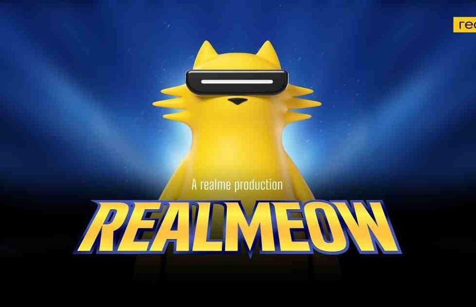 Realme kini punya maskot baru seekor kucing bernama Realmeow
