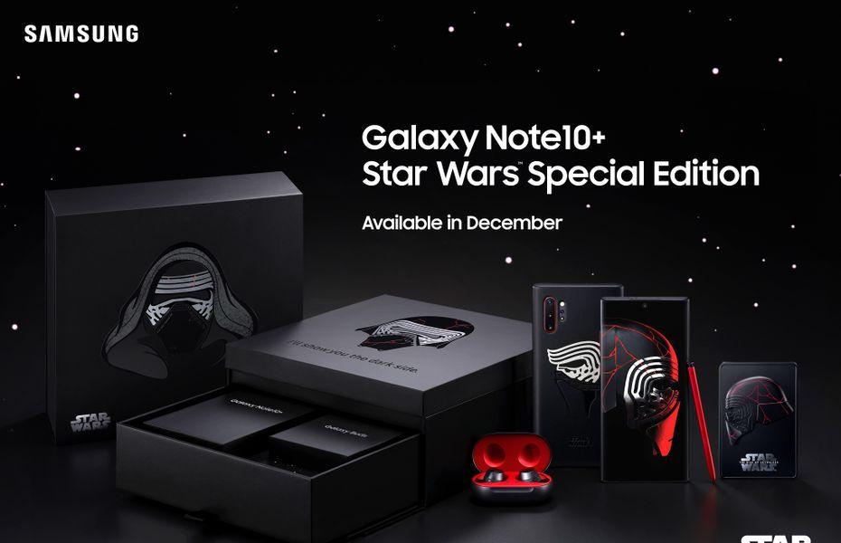 Sambut film terbaru Star Wars, Samsung rilis Galaxy Note 10+ Star Wars Special Edition
