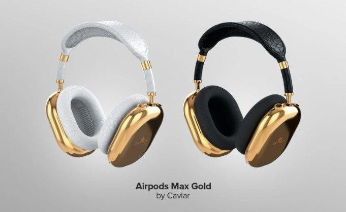 AirPods Max dibalut emas murni, Harganya setara satu mobil mewah