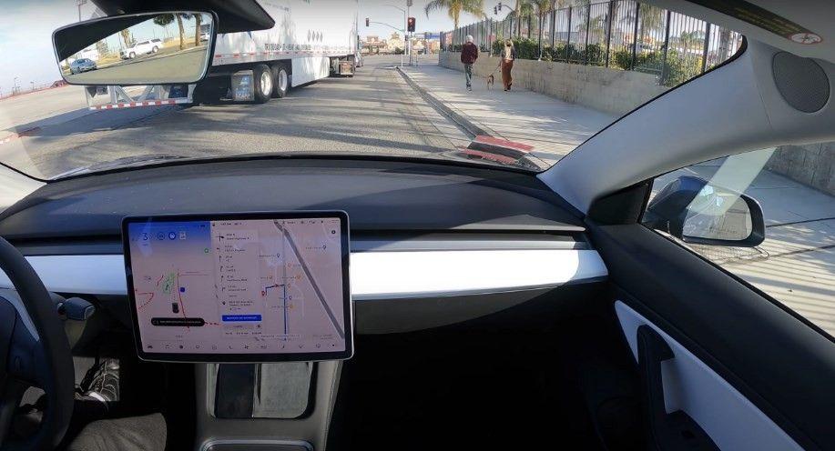 Tesla Model 3 Performance Melakukan Perjalanan Mandiri Dari San Fransisco Ke Los Angeles Tanpa Supir