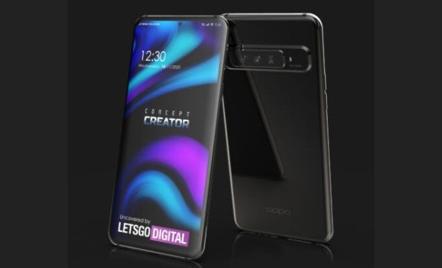 OPPO patenkan desain smartphone dengan kamera 15x hybrid zoom