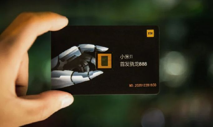 Penampakkan undangan peluncuran Xiaomi Mi 11 dengan chipset Snapdragon 888 asli