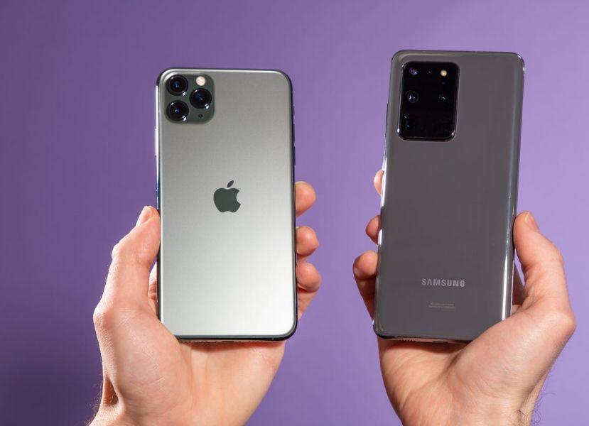 Perbandingan Baterai iPhone 12 vs Samsung Galaxy Note 20 dan Oppo