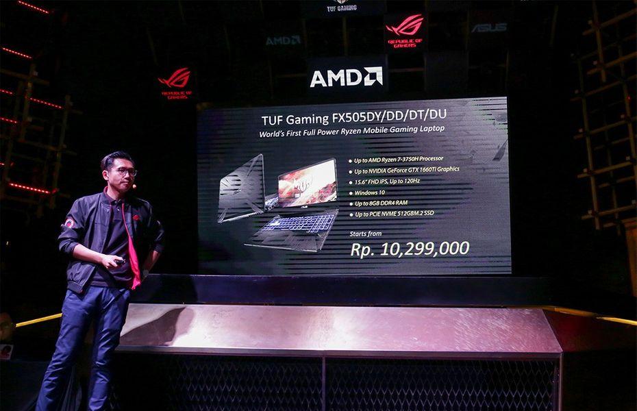 5 varian TUF Gaming FX505 dibanderol mulai Rp10 jutaan