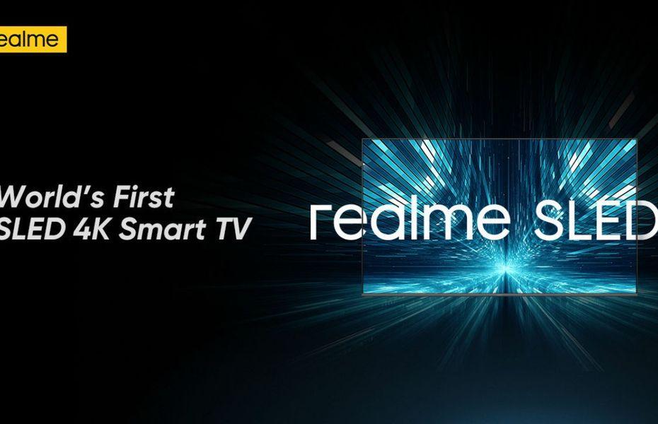 Smart TV SLED pertama di dunia resmi diumumkan Realme