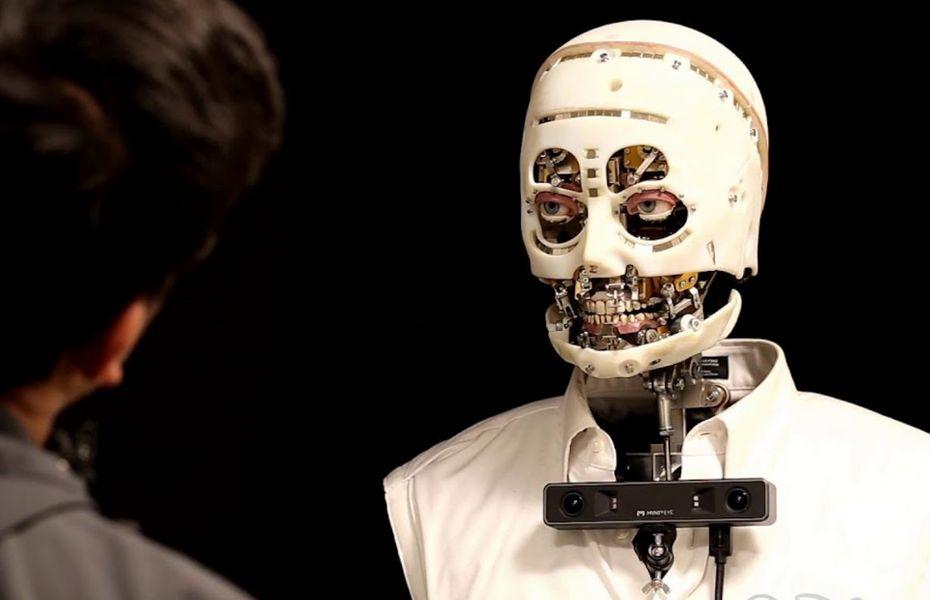 Melihat Robot Ciptaan Disney yang Bisa Berkedip Layaknya Mata Manusia