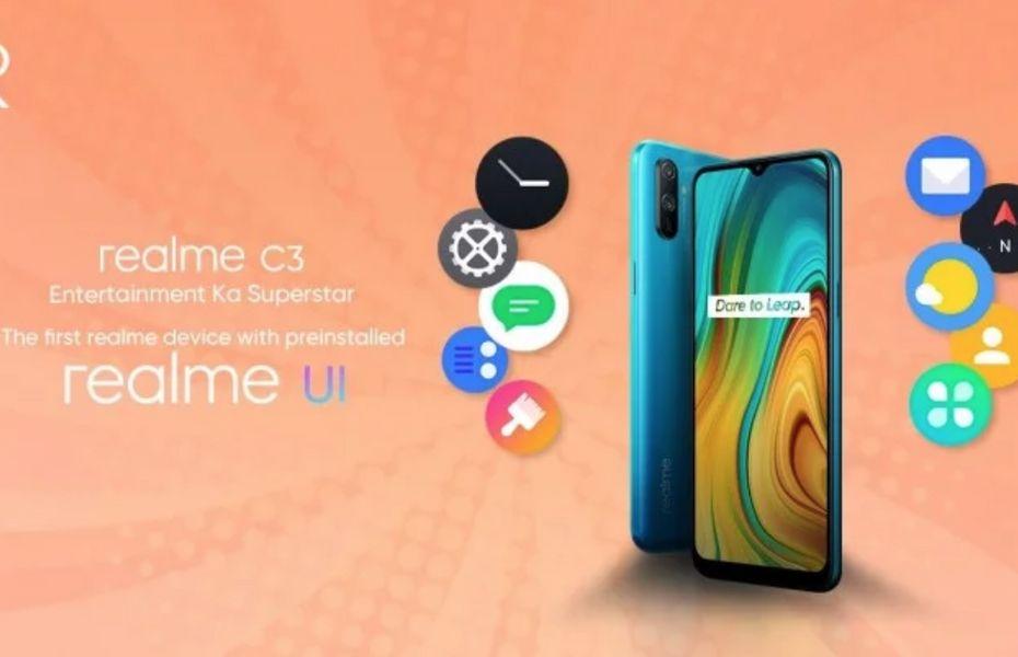 Menjadi yang pertama gunakan Realme Ui, Realme C3 bakal diluncurkan pada 6 Februari