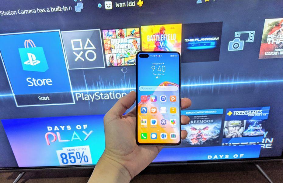 Kesan pertama menjajal ponsel andalan Huawei, P40