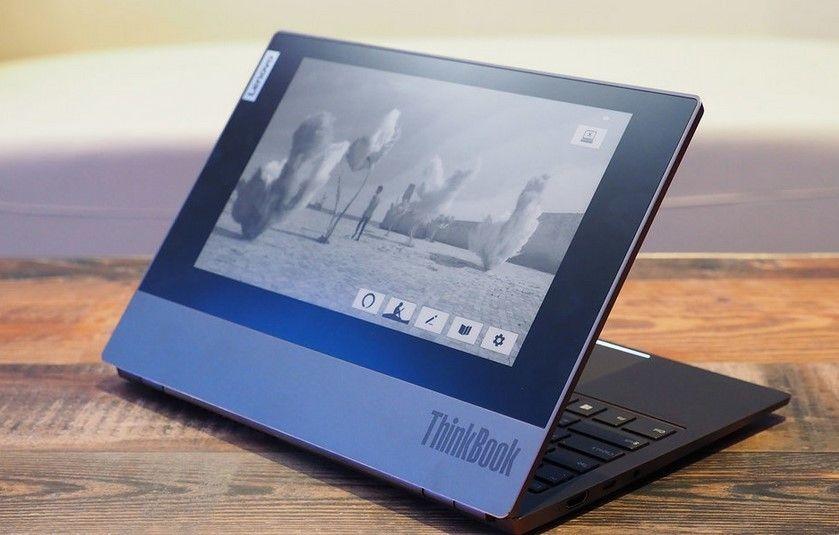 Lenovo Thinkbook Plus Muncul Dengan Layar E-ink, Apa Kelebihannya?