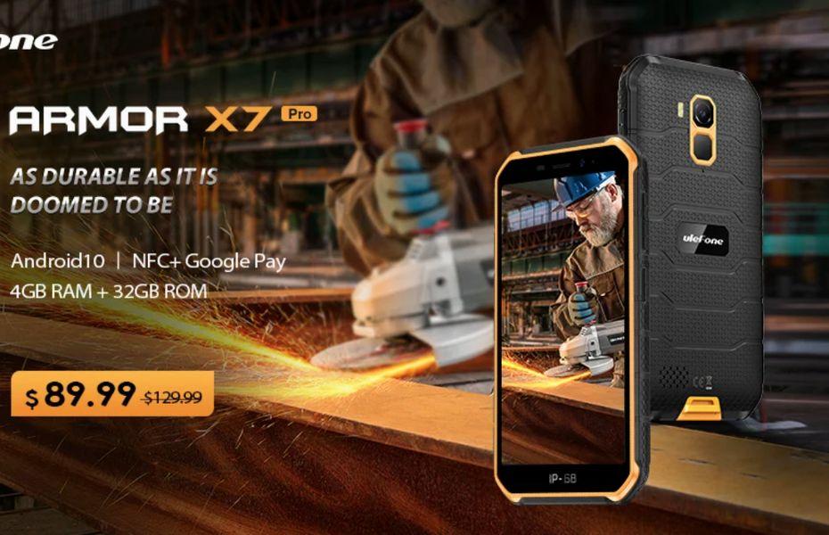 Ulefone Armor X7 Pro, ponsel tahan banting dengan harga hanya 1,3 juta