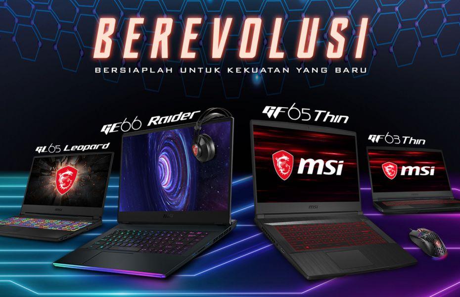 MSI luncurkan 4 laptop gaming terbarunya untuk pasar Indonesia