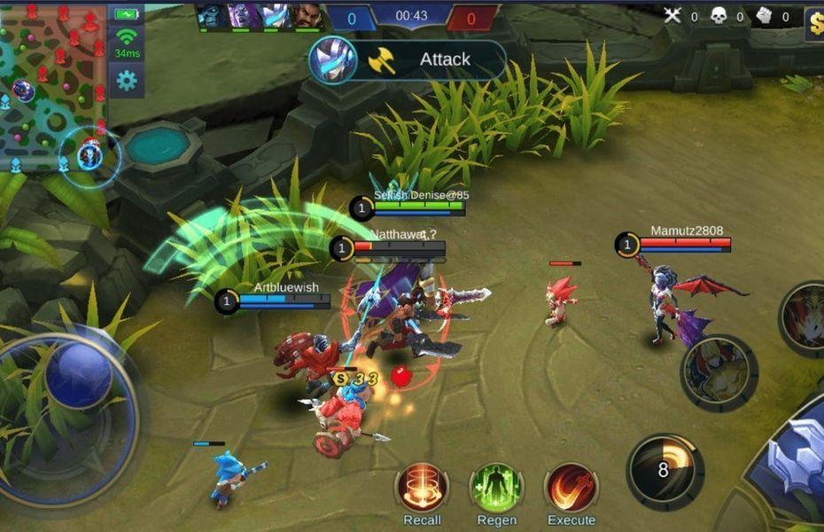 Hero Fighter Mobile Legends Terbaik dan Paling Sakit