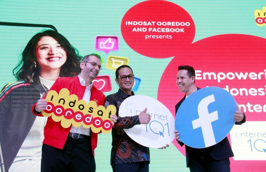 Dukung Internet Indonesia, Facebook dan Indosat Ooredoo luncurkan Internet 101
