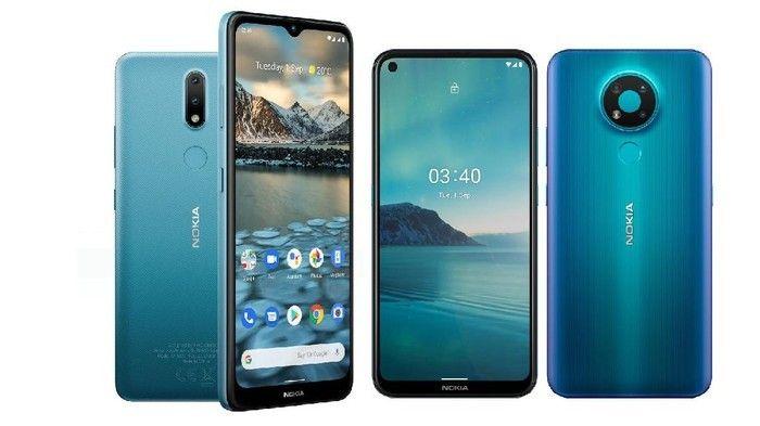 HMD Global luncurkan smartphone Rp2 jutaan, Nokia 2.4 dan Nokia 3.4