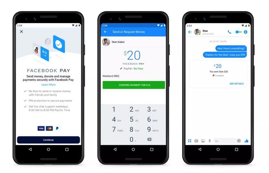 Facebook hadirkan Facebook Pay untuk fasilitasi pembayaran online di platformnya