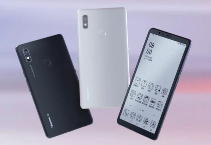 Besok, smartphone Hisense A7 5G dengan layar e-Ink akan diluncurkan global